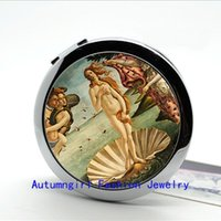 arrival of venus - New Arrival Photo Mirror The Birth of Venus Compact Mirror Botticelli Pocket Mirror Portable Makeup Mirrors