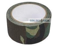 Wholesale Military Tactical Multi functional Camouflage M Length cm Tape Airsoft Versatile Camo Duct Tape on Rifle Cloth order lt no