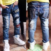 Boy baby boy s jeans - High quality Spring and Autumn kids pants boys baby Stretch joker jeans children jeans y