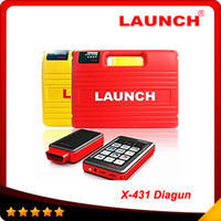 Wholesale 2015 newest In stock Good feedback Launch x431 diagun via vehicles Lifetime free update year warranty DHL
