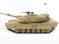 airsoft remote control tank - HengLong GHZ Remote Control Tank U S A M1A2 W Smoke Airsoft Sound Upgraded
