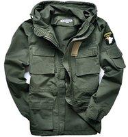 air force fleece - Men cotton can accept waist Military Fleece jackets US army air force bomber Pilot Coats