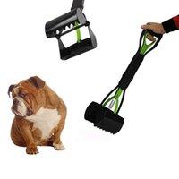 Wholesale 1509 Hot green large poop pooper scooper sawtooth edge pet dog pet poop scooper