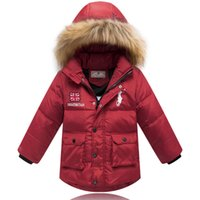 Wholesale Winter Thickened Keep Warm Children S Clothing Boy S Winter Coat Hooded Small Camo Down Jacket Colorful CHE19