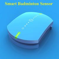 Wholesale Professional Smart Raquette Badminton Racket Sensor Intelligent Badminton Accessories badminton shuttlecock Sensor Trackers Smart Raquette B