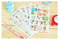 Wholesale sheets Juicy Girl PVC Sticker decoration DIY Scrapbooking Diary Stickers Mobile stickers Albums gift