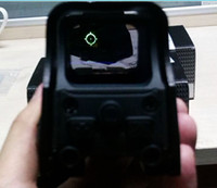 airsoft tactical - 551 style Holographic sight Red Green Dot Sight Scope For Airsoft Hunting Tactical mm picatinny rail Reflex Dot Sight rifle scope