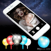 Nouvelle LED Selfie Sync Flash Light Caméra LED Flash Light avec un câble USB pour IOS Android iPhone 6s Améliorer Flash Light