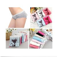 sexy cartoon girl - 1 New Women Girls Underwear Soft Elastic Briefs Elegant For Cat Cartoon Lovely Panties