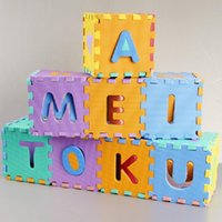 Wholesale Interlocking EVA Foam Alphabet Letters Numbers Baby Play Mat Puzzle Children dandys