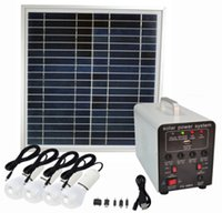 12v lead acid battery - 15w portable solar lighting system solar power system with built in AH lead acid battery with V V output for lighting and phone charge