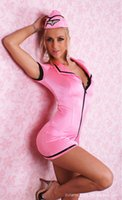 erotic toy - Sexy Toys Cotton Women Limited New Arrival Sexo Catsuit Fetish Erotic Lingerie Sexy Costumes Stewardess Dance Four Sets Of