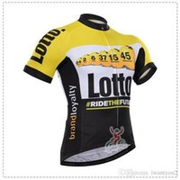 bianchi cycling - Lotto Cycling Jerseys Short Sleeve Brand Loyalty Bianchi Bicycle Wear Bike Jerseys Bib None Bib Pants Outdoor Equipments