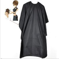 Wholesale 2015 High Quality PC Adult Salon Hair Cut Hairdressing Barbers Hairdresser Cape Gown Cloth Waterproof Free Drop Shipping