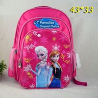 Wholesale 2014 New Children s School Bags Hot Cartoon Princess Printing School Bags for Teenagers Backpacks for Girls Back to School Bag