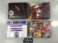 adult easter cards - ZY001 Cartoon Star Wars Wallet Star Wars black sodier wallet Leather Mens Wallet PU Purse adults Wallets Bifold Purse Coin Holder For adults