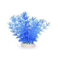 Wholesale 1 Pc Aquarium Ornament Decoration Plastic Grass Artificial Water Plant For Fish Tank