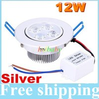 bathroom kitchen supplies - CREE Dimmable Led Recessed Ceiling Lights W Led Downlights Warm Natrual Cold White Lumens AC V Power Supply