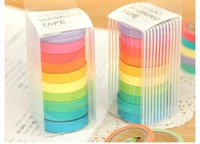 Wholesale Japanese Paper Tape Set Masking Tape Decorative Tape Scrapbooking Sticker pieces