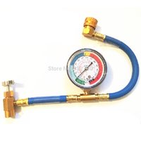 Wholesale R134a Recharge Hose Motors Car Part Measuring Tool Gauge Pressure Resistant W Valve Can Tap AC Recharge Hose psi Fit quot order lt no tr