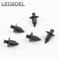 auto body panel - Auto Pastic Shield Push Type Retainers Clips For GM Mazda Suzuki Mitsubishi Car Body Door Trim Panel Fasteners Expansion Rivet