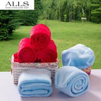 acrylic mink blankets wholesale - 2pcs cm cm warm soft blanket for bed fleece blanket travel blanket on bed mink blanket