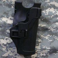 Wholesale Blackhawk LV3 Glock Waist Holster Without Light Tactical Holster For Glock Airsoft Painball Belt Gun Holster CS Game Combat Gun Pounch