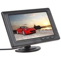 4,3 Pouces 480 x 272 TFT de Couleur de l'Écran LCD à 2 Canaux d'Entrée Vidéo de la Vue Arrière de Voiture Moniteurs Support Multi-rôle Affichage CMO_332