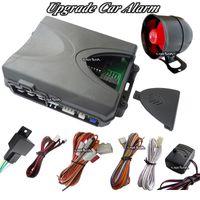 Wholesale upgrade car alarm with shock sensor and ultrasonic sensor alarm working with OEM remote key or alarm remote auto arm doom light delay time