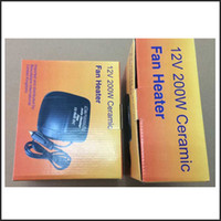 fan heater - Portable Car Fan Heater Ceramic Electric Auto Heaters Machine Warm Air Conditioner v DC w Defroster Demister