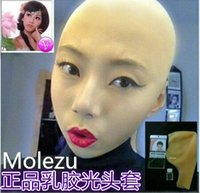 bald head style - Latex bald head Cos monk or nun play bald mm thin style a