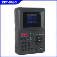Wholesale Good digital Satellite finder signal meter inch KPT G TFT DVB S2 Handheld ABS S CBS S MPEFG HD Signal sat finder Cheap