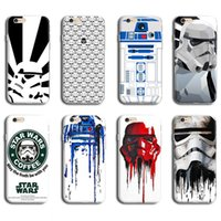 Wholesale STAR WARS CASE FOR IPHONE S MOBILE PHONE BACK COVER CASE R2D2 STAR WARS COFFEE STORMTROOPERS