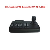Wholesale 3D CCTV PTZ Keyboard Controller with Joystick Analog Axis RS485 for surveillance DVR PTZ speed Dome Camera Controller