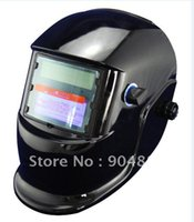 Wholesale LI battry and Solar dal power suply auto darkening welding helmet mask for the MIG MAG TIG welding machine and CUT plasma cutter