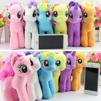 free stuff - 20cm My Little Pony Plush Cartoon Super Quality plush Dolls Stuffed Toys Plush Animals