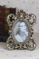 art craft frames - Resin Art Craft Retro style Embossed Photo Frame Decoration