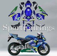 telefonica - Fairings for Honda CBR RR F5 Year ABS motorcycle fairing kit bodywork motorcycle Cowling Movistar Telefonica
