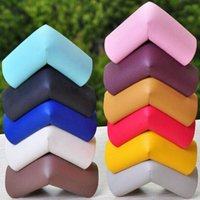 Wholesale 8pcs Baby Safety Accessories Corner Edge Spongy Pads Cushions Table Desk Protecctive Covers os190