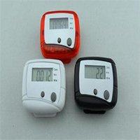 Wholesale Delicate Brand New Sport Running Jogging Calorie Pedometer Walking Distance LCD Step Counter