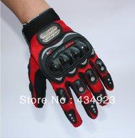 Wholesale PRO BIKER MOTO racing gloves Motorcycle gloves protective gloves off road gloves motorbike gloves blue color size M L XL XXL