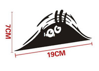 auto vinyl material - Fashion Hot cm Funny Peeking Monster Auto Car Walls Windows Sticker Graphic Vinyl Car Decals Car Stickers Accessories
