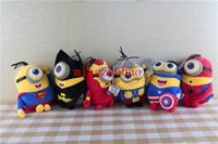 Wholesale Hot Sale quot Minions Cosplay The Avengers Super Hero Spiderman Superman Batman Captain America Ironman Thor Action Figure Toys
