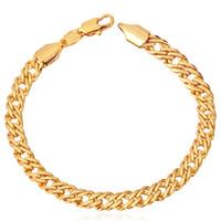 Wholesale MGC Men Venitian Chunky Colors Options Chain Bracelet K Gold Platinum Rose Gold Plated New Fashion Men Jewelry H442