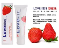 lubricant anal lube - 2 Can Eat Lubricating Oil Water Soluble Lubricant Lovekiss ml Anal Oral Breast Foot Body Lube Oil Sex Products Lubricant