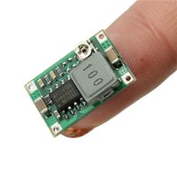 Wholesale Adjustable Converter Super Mini Step Down power supply Module V V to V V mm mm mm for RC Plane for DC DC