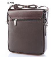 Wholesale Mens Leather Handbag Brown Black Briefcase Laptop Shoulder Bag Messenger Bag New Arrivals Business Bags