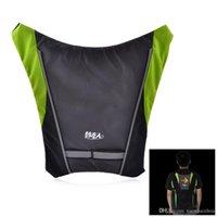 Wholesale YKGJ B0008 Bicycle Safety Vests Frame Warning R C Signal Lamp Vest