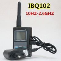 Wholesale Two Way Radio Frequency Counter IBQ102 Wide Test Range MHz MHz Sensitive Portable Frequency Meter in retail box