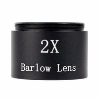 Wholesale New mm X Barlow Lens M28 Thread for Standard quot Telescope Eyepiece Astronomy W2124A Eshow